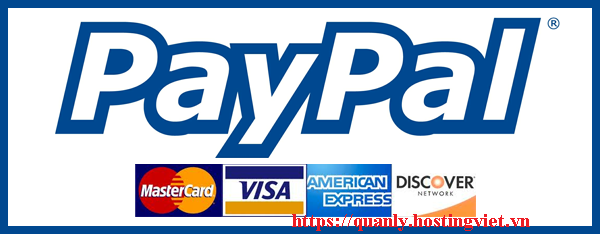 hướng dẫn thanh toán bằng paypal
