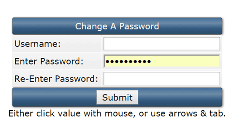 directadmin: Change A Password