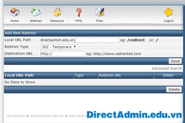 Add-New-Redirect