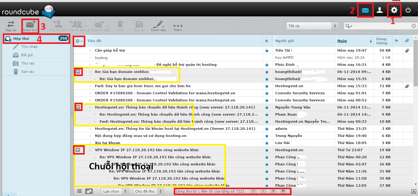 Webmail Roundcube - Email Hosting